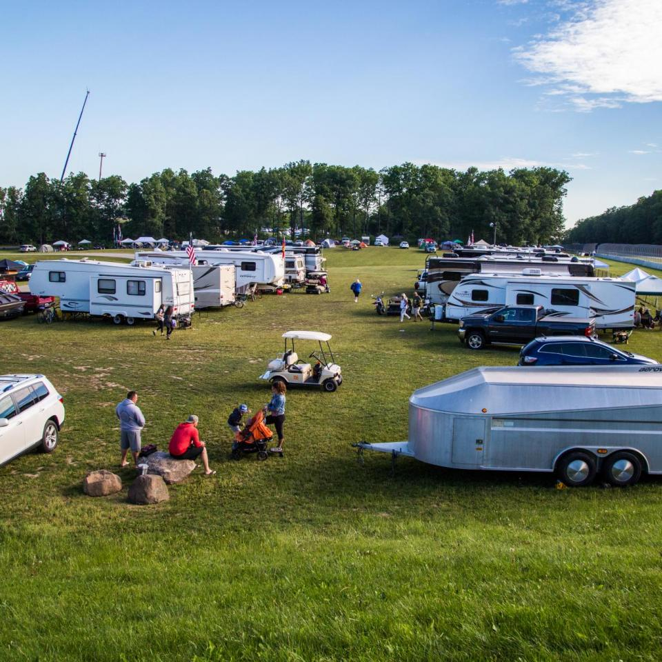Camp @ Road America