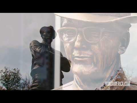 Road America Honors Founder With Life-Size Tribute
