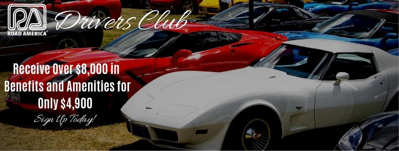 Driver's Club - Receive over $8,000 in benefits and amenities for only $4,900.  Sign up today!