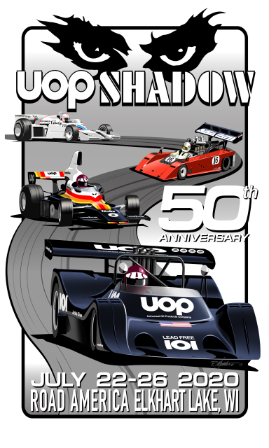 UOP Shadow 50th Anniversary July 22-26, 2020